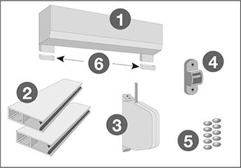 Extrem Wandmontage: Vorbaurollladen | Montageanleitungen von FB99